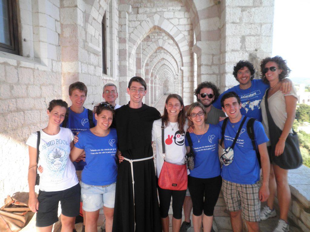 Gruppo Animatori ad Assisi