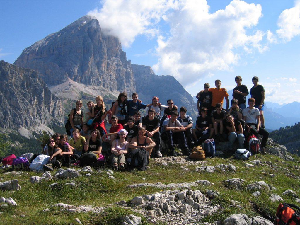 Ragazzi partecipanti al Campeggio Laste 3 - 2016